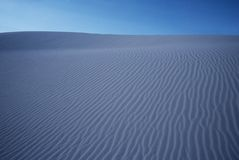 Rippled sand dunes Stock Photography