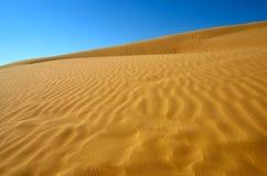 Desert sand dunes Stock Images