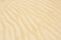 Rippled sand pattern background Stock Photo