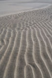 Rippled sand texture Royalty Free Stock Photography