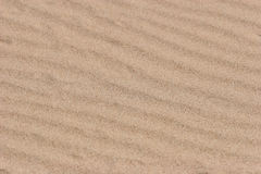 Rippled sand texture Royalty Free Stock Images