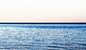 Rippled sea, concept of vastness Stock Photo
