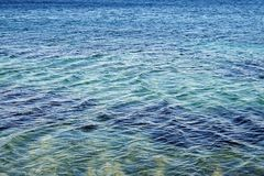 Rippled Sea Water Royalty Free Stock Photos