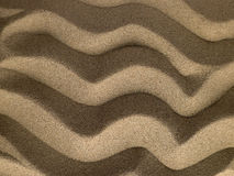 Rippled Texture In Sand Royalty Free Stock Images