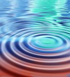 Rippled universe Royalty Free Stock Photo