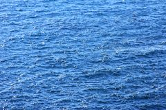 Rippled water surface. (Atlantic Ocean Royalty Free Stock Images