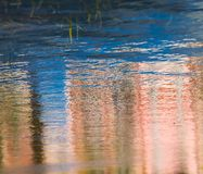 Rippled water surface. Nature abstract Stock Photo