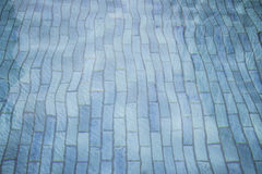 Rippled water in swimming pool Royalty Free Stock Photography