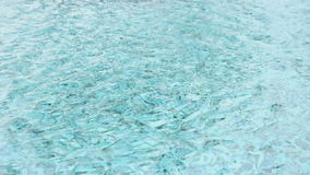 Rippled water in swimming pool stock video