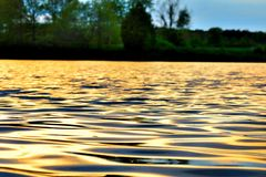 Rippled Waters Royalty Free Stock Images