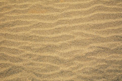 Rippled wind blown sand Stock Photography