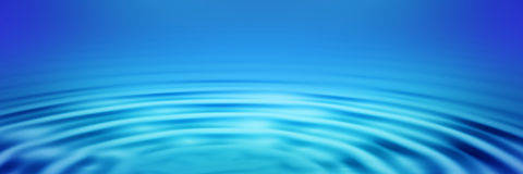 Ripples banner 2 Royalty Free Stock Photography