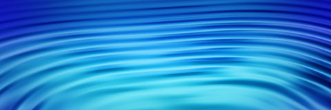 Ripples banner 3 Stock Images