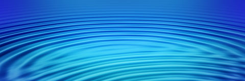 Ripples banner Royalty Free Stock Images