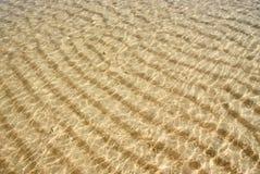 ripples havsvatten Royaltyfri Foto
