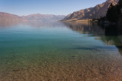ripples on lake Hawea Royalty Free Stock Images