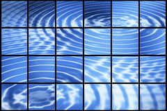 Ripples on mosaic Stock Images