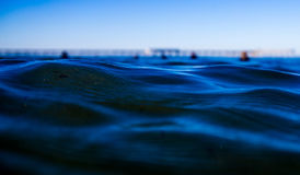 Ripples in the Ocean Royalty Free Stock Photo