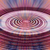 Ripples. Pink blue and purple ripples Stock Image