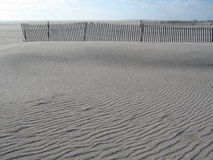 Ripples in the sand Royalty Free Stock Images