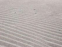 Ripples on the sand. Ripples on a sandy beach Royalty Free Stock Image