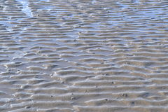 Ripples in sand Royalty Free Stock Photos