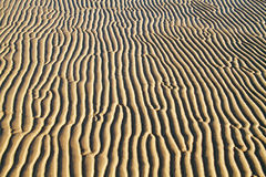 Ripples in sand Stock Image