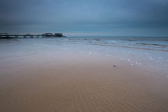 Ripples in the Sand at Cromer Royalty Free Stock Photography
