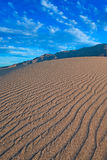 Ripples in the Sand Royalty Free Stock Photography