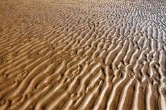 Ripples on the sand Stock Photos