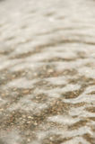 Ripples of shallow water on a lake Stock Images