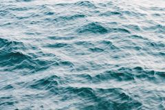 Ripples top view stock images