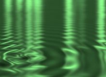 Ripples on the water Stock Photography