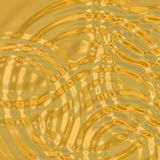 Rippling gold Stock Photos