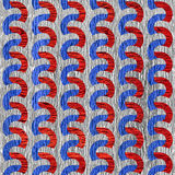 Rippling paneling pattern - seamless background - USA Colors. Rough wooden surface royalty free illustration
