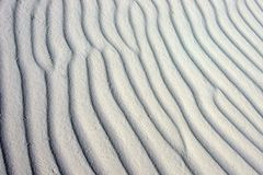 Rippling sand Royalty Free Stock Images