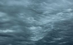 Rippling Stormy Clouds Royalty Free Stock Photography
