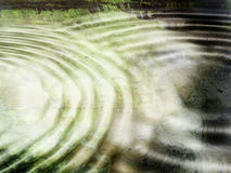 Rippling water. Grunge style rippling water background Stock Photo