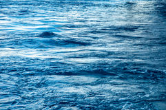 Rippling Water. In carribean location stock photo