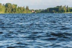 Rippling water surface royalty free stock photos