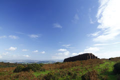 Rippon Tor Rifle Range, Dartmoor Royalty Free Stock Photography