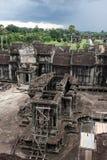 Ripristino del tempiale di Angkor Fotografie Stock Libere da Diritti