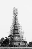 Ripristino della pagoda Immagine Stock