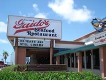 Ripristino di Galveston Fotografie Stock