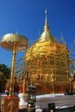Ripristino di Phra che Doi Suthep Fotografia Stock