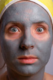 Ripristino e facial della donna Fotografia Stock Libera da Diritti