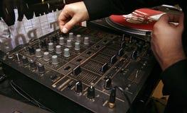 Riproduttore di CD - DJ - 7 Fotografia Stock Libera da Diritti