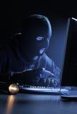 Riprogrammatore che ruba i dati Immagine Stock Libera da Diritti