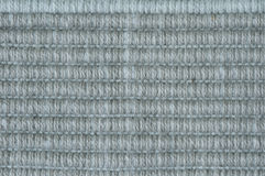 Ripstop fabric. Close up of gray blue cotton ripstop cloth Stock Image
