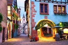 Riquewihr, Эльзас, Франция Стоковые Изображения RF